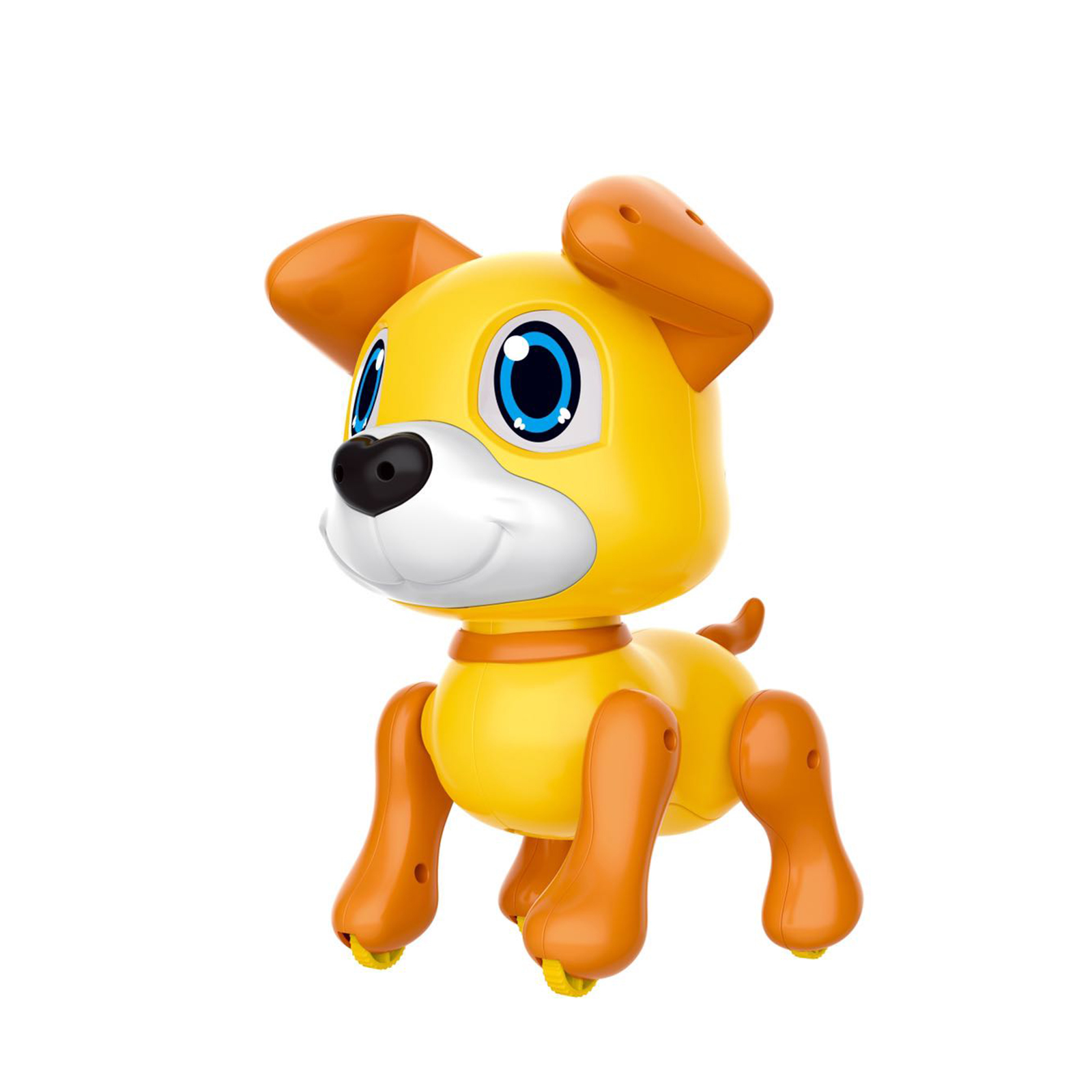 Jouet de chien Robot électronique avec des lumières de détection de geste et des sons de chiot cadeau de musique de jeu Intelligent pour les filles enfants garçons