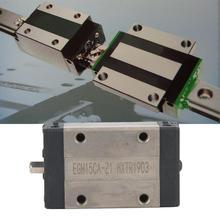 цена на 1Pcs EGH15CA Mini Linear Motion Guide Rail Block Slider Bearing Steel Sliding Block