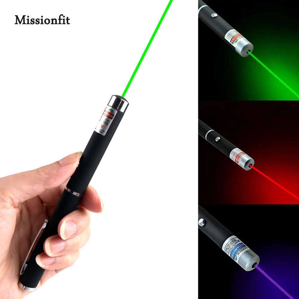 5MW Laser Pen For Teaching Meeting PPT Pet Cat Toy Dot High Power Red Laser Pens Light Color Green Blue Pointer Laser Sight Pen
