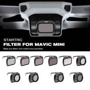 Image 1 - STARTRC Mavic Mini Lens ND4/ND8/ND16/ND32/MCUV/CPL Set Filter For Mavic Mini Drone Lens ND8 ND16 ND32 ND64 PL Accessories Kit