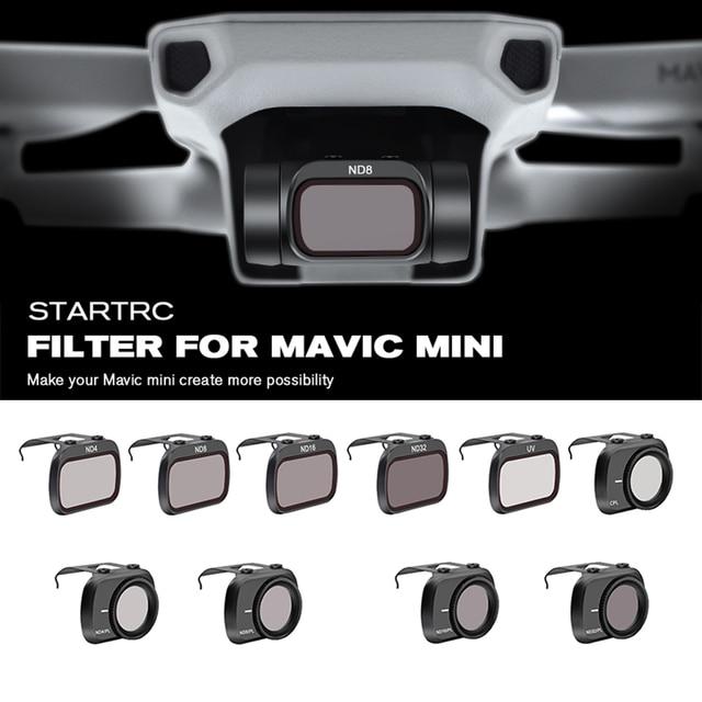 STARTRC Mavic Mini Lens ND4/ND8/ND16/ND32/MCUV/CPL Set Filter For Mavic Mini Drone Lens ND8 ND16 ND32 ND64 PL Accessories Kit