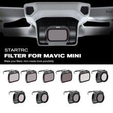 STARTRC Mavic מיני עדשת ND4/ND8/ND16/ND32/MCUV/CPL סט מסנן עבור Mavic מיני drone עדשת ND8 ND16 ND32 ND64 PL אביזרי ערכת