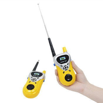 1 Pair Walkie Talkie Kids Interactive Toys Funny Family Game Children Simulate Mobile Phone Telephone Talking Toy Birthday Gift
