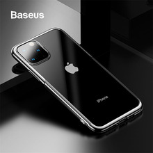 Baseus Silicone Phone Case Cover For iPhone 11 Pro Max High Quality Soft TPU Protection Back Coque Funda