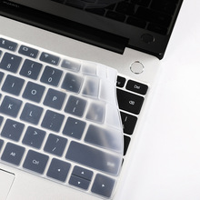 TPU Keyboard Stickers for Huawei Matebook 13 X Pro Silicone US Russian Letter Cover for Huawei Matebook D 14 15 Protective Skin