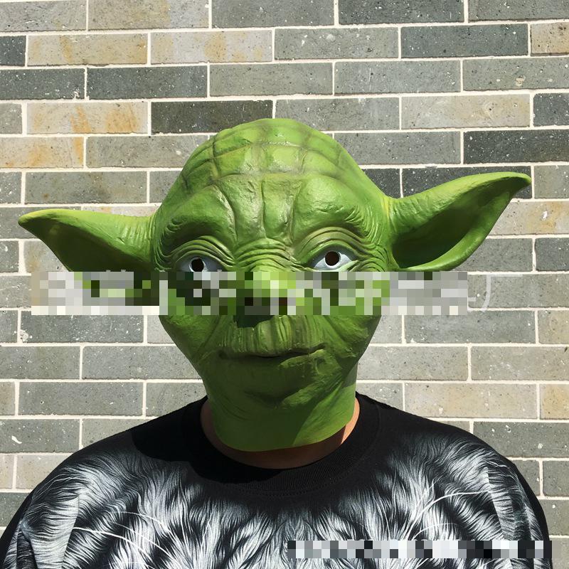 Master Yoda Mask Mask, Star Wars Yoda Mask, Film Mask, Halloween Ball Mask Unisex Horror Toy