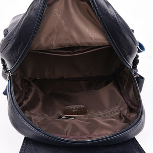 Image 5 - 2019 Women Leather Backpacks Female Travel Shoulder Bags Sac a Dos Femme Large Capacity Travel Backpack Fashion Ladies Back Pack