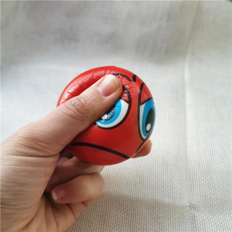 6.3cm, espuma pu macia, brinquedo para crianças,
