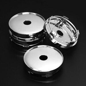 Image 3 - Tapas de cubo de rueda Universal ABS para coche, 60mm/56mm, 4 unidades por lote