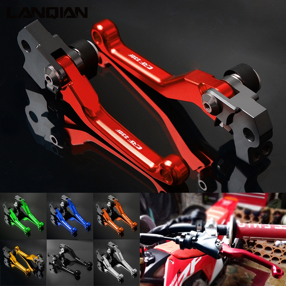 For Honda CRF230F Dirt Bike Pivot Lever Motorcycle Brake Clutch Lever CRF 230 F 2003-2017 2010 2011 2012 2013 2014 2015 2016