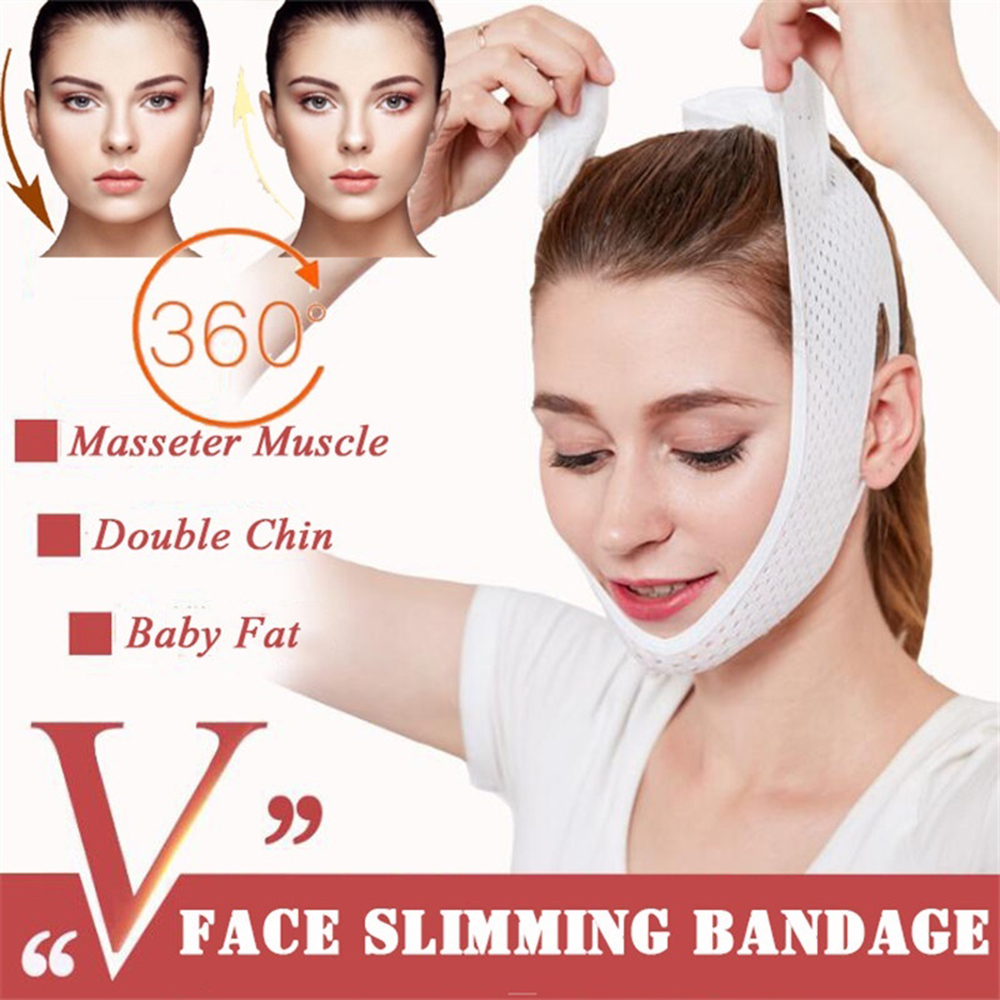 Face Lift Up Mask Bandage Care Chin Cheek Beauty Slimming Be…