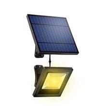 ソーラーライトガーデンソーラー投光器30LEDソーラーパネルと5メートルのケーブル壁ランプソーラールスソーラー照明