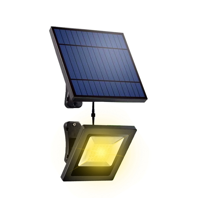 Garden Solar Flood Light 30LED Solar Panel With 5M Cable Floodlight Wall Lamp With Solar Battery For luz Solar Lighting