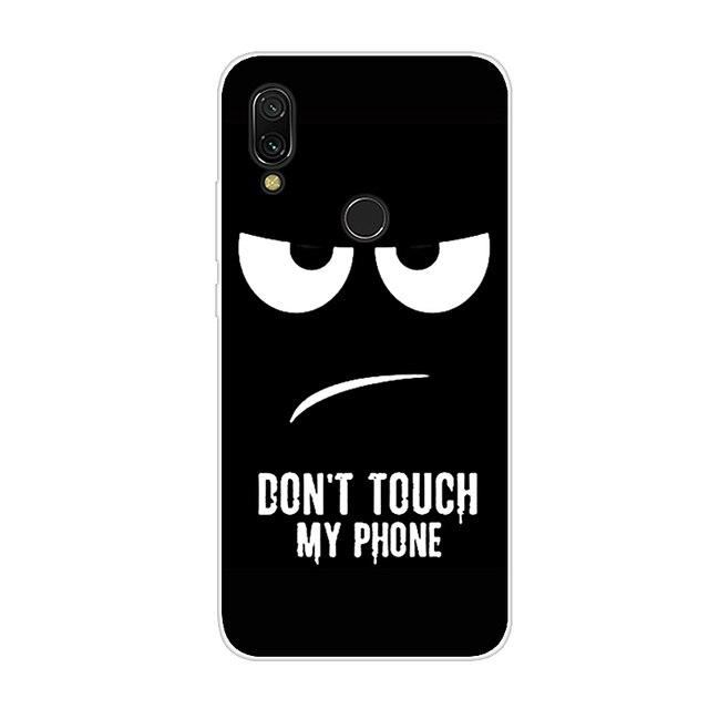 Redmi 7 Case For Xiaomi Redmi 7 Cover Soft TPU Cute Back Cover Fundas For Xiomi Redmi7 Note 7 Silicone Phone Cases Hoesje Coque