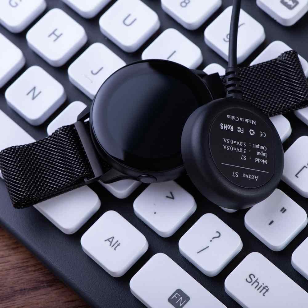 Smartwatch Relógio Inteligente Base de Carregamento Cabo do Carregador USB Para Samsung Galaxy Relógio Ativo R500