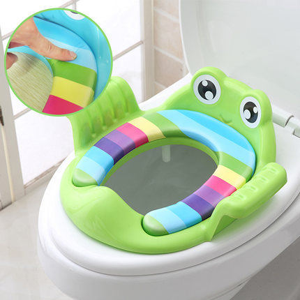 Large Size Infant Child Toilet Seat Pedestal Pan Baby CHILDREN'S Kids Men And Women Seat Cushion Potty Cover Ladder Toilet Usefu