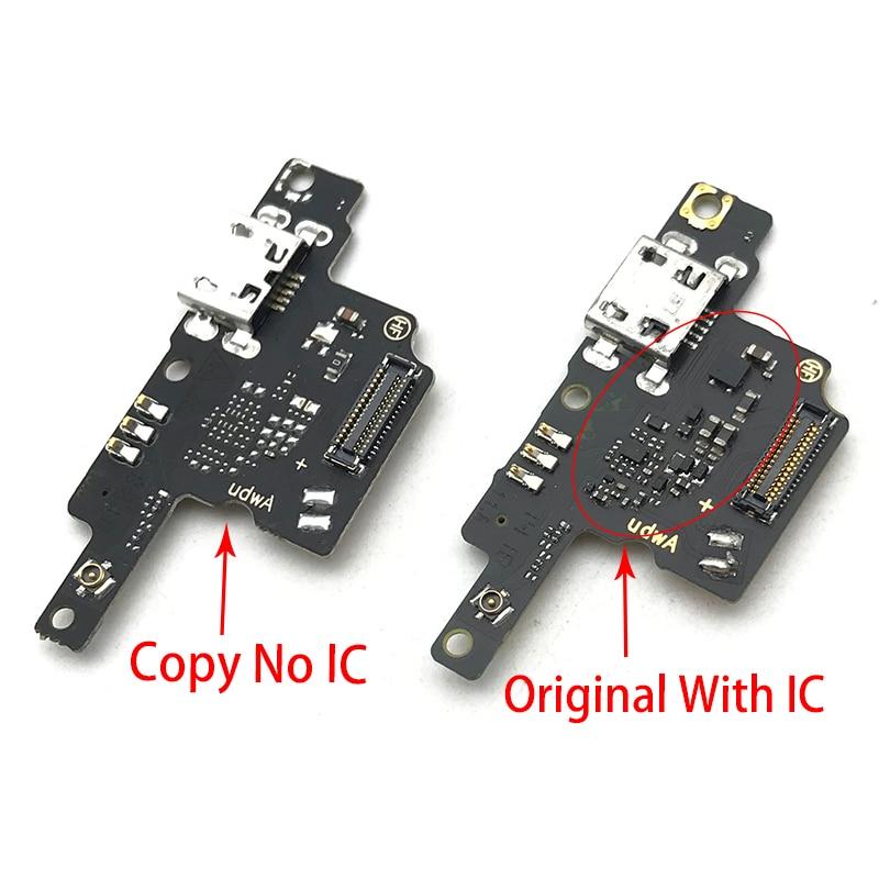 Плата USB для зарядного порта, гибкий кабель, соединительные детали для микрофона ZTE Blade V9 Vita