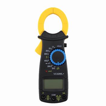 Cyfrowy zacisk multimetr AC DC napięcie prądu Amp Ohm rezystancja miernik cęgowy elektroniczny multimetr zabezpieczenie przed przeciążeniem tanie i dobre opinie OOTDTY NONE ELECTRICAL CN (pochodzenie) Digital Clamp Multimeter AC Voltage 600V 2K-200K-2MΩ AC Current 20-200-600A Cyfrowy tylko
