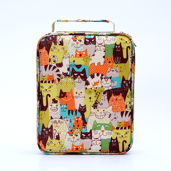 150 Slots Pencil Case for Girls Boys Back to School Large Capacity Pen Bag Big Stationery Box Kawaii Cat Pouch Penal