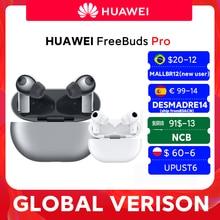 DESMADRE14 €99-14 off HUAWEI-smartphone Freebuds Pro, versión Global, carga inalámbrica Qi, función ANC, para Mate 40 Pro, P30 Pro