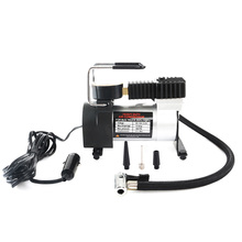 100PSI Super Flow 12V Air Compressor Tyre Inflator Car Air Pump Vehicle Pump Electric Pressure Gauge Car air pump все цены