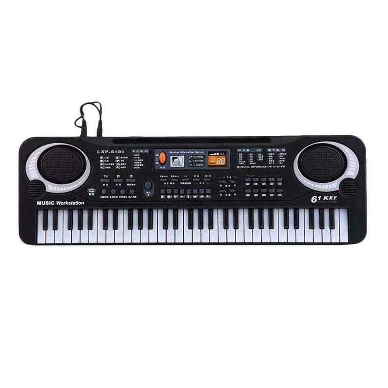61 Keys Digital Multifunction Music Electronic Keyboard Key Board Electric Piano Children Gift Eu Plug