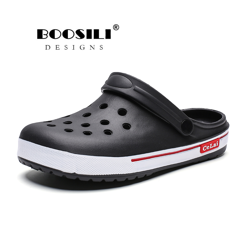 2020 Sale Erkek Ayakkabi Mens EVA Sandal Men's Garden Shoes Summer Sandals High Quality Breathable Clogs Lightweight