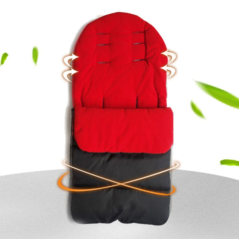 3-in-1 Baby Stroller Blanket Footmuff Cover Waterproof Keep Warm Sleeping Bag 72XC