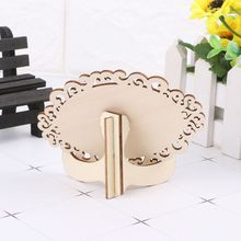 10pcs Oval Shape Hollow…