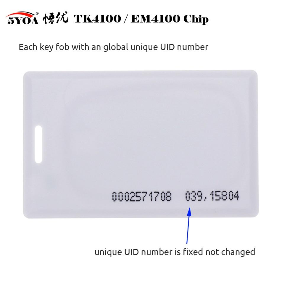 10pcs 1 8mm EM4100 Tk4100 125khz Access Control Card Keyfob RFID Tag Tags Key Fob Token 10pcs 1.8mm EM4100 Tk4100 125khz Access Control Card Keyfob RFID Tag Tags Key Fob Token Ring Proximity Chip