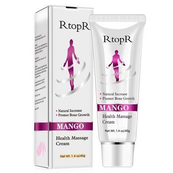 Naturalny olej mango zwiększa wzrost ciała produkty zdrowotne pielęgnacja pielęgnacja promuj smar krem do masażu wzrost stóp Q2R6 tanie i dobre opinie Foot massage cream Smary Suitable for all skin types