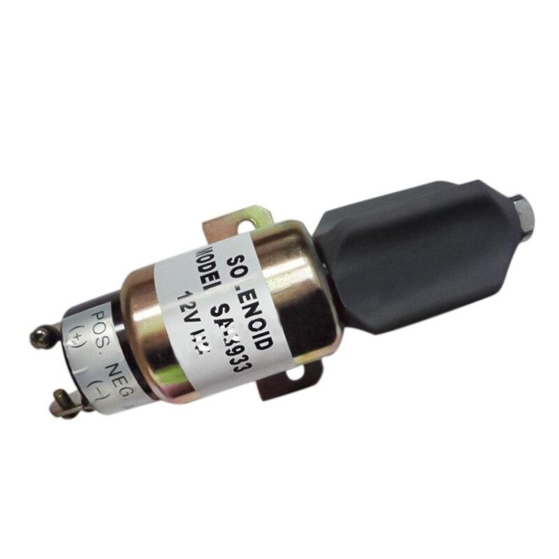 Stop Solenoid 1751-12E7U1B1S1A 1700-2507 12VDC (3 terminals)