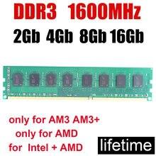Mémoire de serveur d'ordinateur de bureau, modèle ddr3, capacité 4 go 8 go, fréquence d'horloge 1600/PC3-12800 MHz, double canal, bonne compatibilité, fonctionne parfaitement