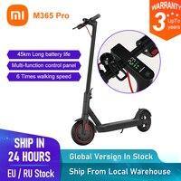 Xiaomi-patinete eléctrico Mijia M365 Pro, versión Global, batería plegable de 45km, aeropatín, Longboard, envío gratis