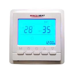 3 м Сенсор кабель терморегулятор Напольное отопление Температура Контроллер Цифровой комнатный термостат с синим Подсветка