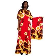 Dress Long-Sleeve Floral-Print Women Autumn Spring Boho for Lady 4-Colors Elegant High-Waist