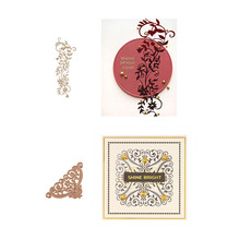 Hot Foil Plates Glimmer Gilded Trimmings Popular Decoration Frame for Scrapbooking DIY Paper Cards Crafts New 2019
