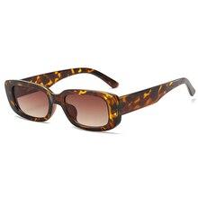 2020 Rectangle Women Sunglasses Retro Fashion Brand Designer