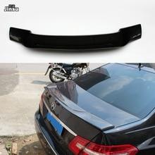 цена на Renntech style Carbon fiber rear trunk spoiler lip For Benz E class sedan E250 E300 E350 2009 - 2016 W212 R styling back wing