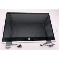L20552 001 For HP PAVILION x360 14 cd0008la 14 cd0009la 14 cd0014la 14 CD 14M CD HD LCD LED DISPLAY TOUCH SCREEN Whole hinge up