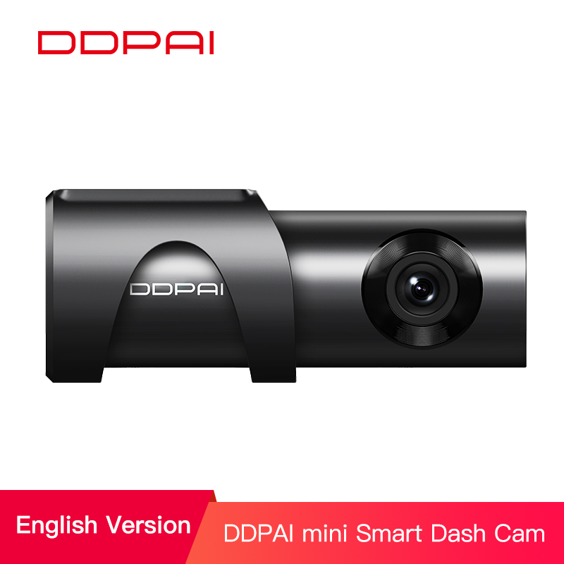 DDPai Mini3 HD Wi-Fi w// Remote Parking Monitor WDR Built in 32GB Car Dash Cam