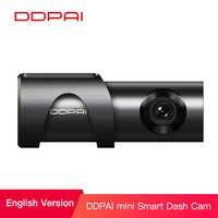 Ddpai mini3 1600 p hd completo traço cam wifi 32g carro dvr com wdr g-sensor 24 h parque loop gravação gravador de unidade