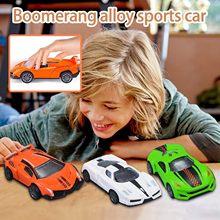 Liga em miniatura esportes carro de corrida carro premium fisicamente conduzido conjunto 3 pc modelo de carro brinquedo presente aniversário personalizado jouet