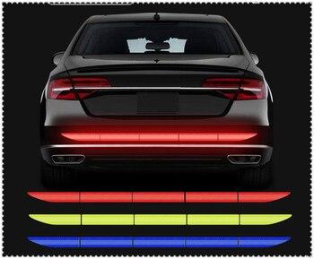 Samochód odblaskowa naklejka pasek ostrzegawczy bagażnika dla Infiniti JX IPL FX EX37 G37 FX50 FX37 M35h emerg-e Etherea EX30d