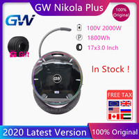 2020 GotWay Nikola Self Balance Electric Scooter With Bluetooth Speaker Unicycle Skate Hoverboard 100V 1800WH 2000W Motor