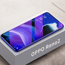 9H Tempered Glass For OPPO Reno 2 Full Cover Purple Light Anti Blue Clear Ultra thin