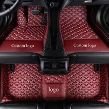 цена на Custom car floor mats for Volvo C30 S40 S60L S80L s90 V40 V60 XC60 v90 XC90 xc70 XC-Classi all logo car carpet  Auto Accessories