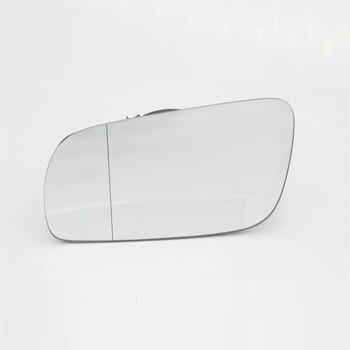 Espejo lateral izquierdo de vidrio para Skoda Superb B5 2001, 2002, 2003, 2004, 2005, 2006, 2007, 2008-Stying lado puerta trasera espejo con cristal calefactado