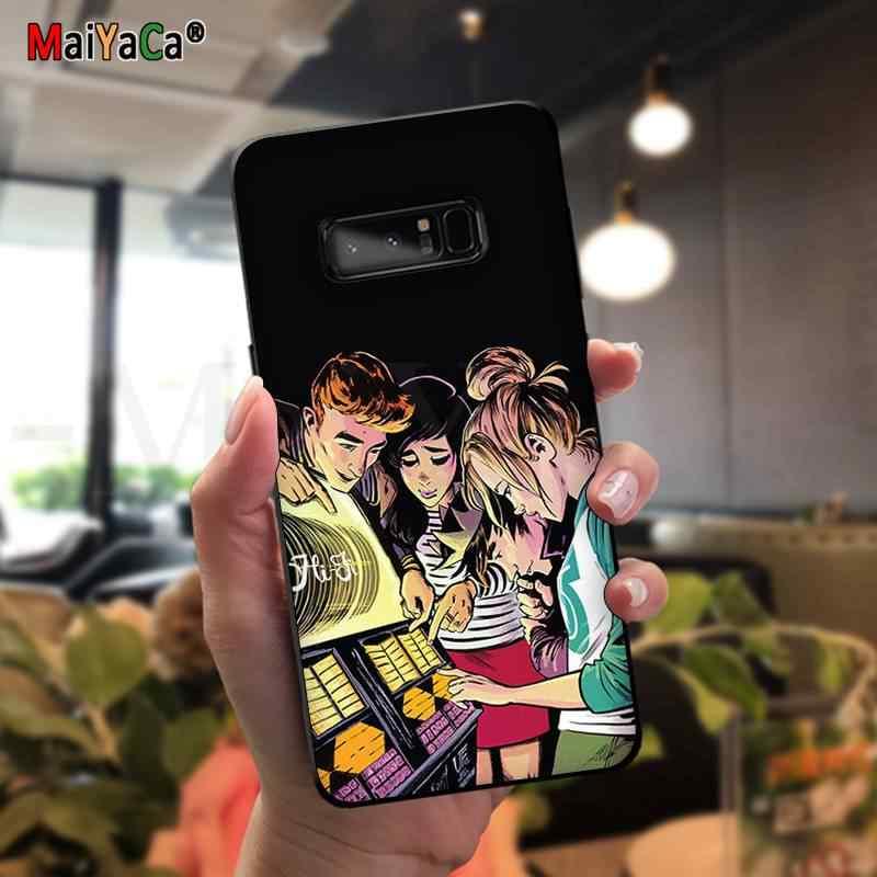 Maiyaca Riverdale (Chương Trình Truyền Hình TPU Mềm Mại Ốp Lưng Điện Thoại Samsung Note 3 4 5 7 8 9 10 Pro A7 2018 A10 A40 A50 A70 J7 2018