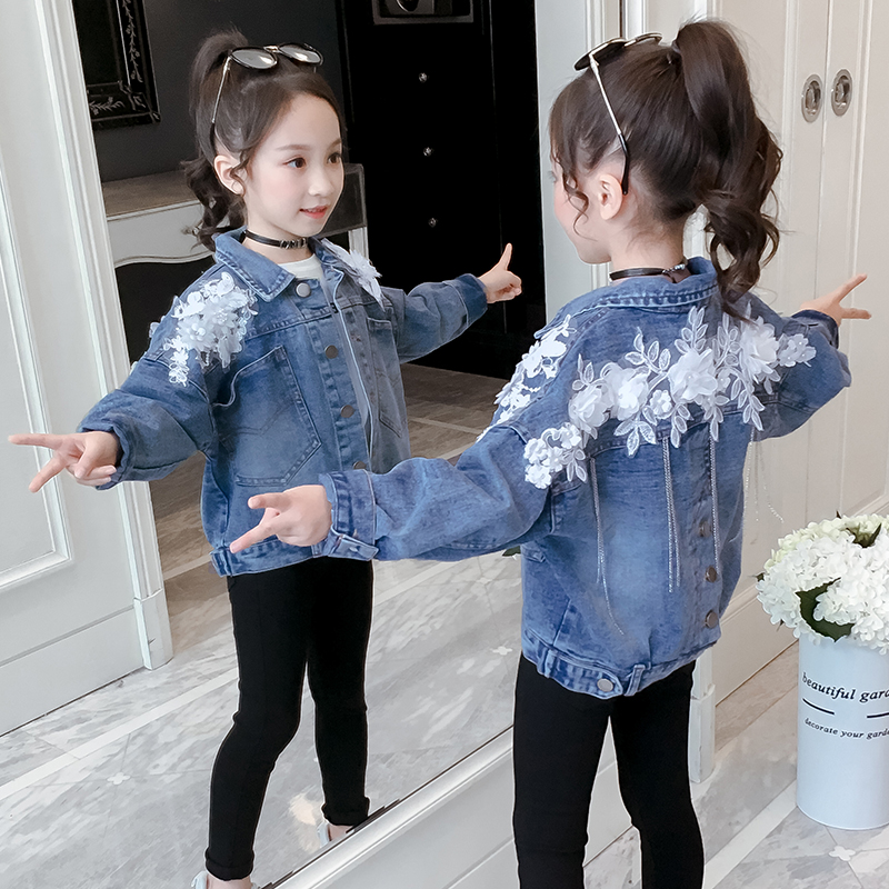 Baby Toddler Girls Denim Vest Butterfly Tops Kid/'s Fashion Outerwear Clothes New